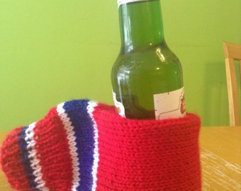 Free shipping Drink holder mitt can or bottle holder  gift for camping  hockey mom or dad camping , fathers day