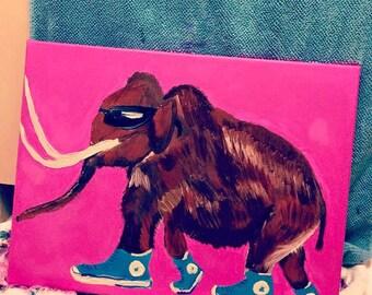 Mammoth in Chucks