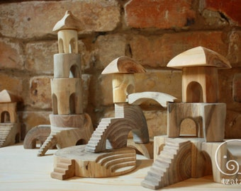 Forest Town constructor/wooden blocks