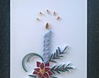 Handmade quilling greeting card