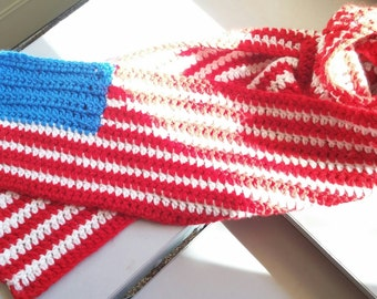 Simple Flag Scarf