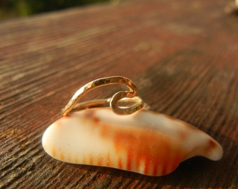 Wave Ring, 14k Gold Fill
