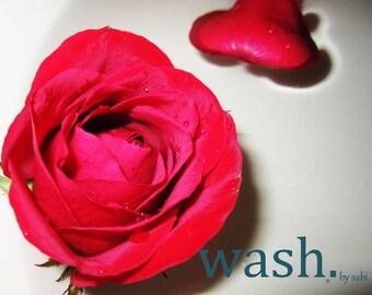 Fizzy Bath Bomb-Rose Petals and Sage