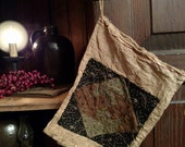 Primitive Ditty Bag (Black Brown and Green)