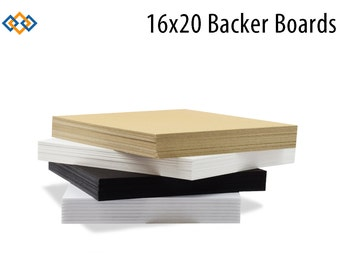 16x20 Backer Boards for Photo Mats