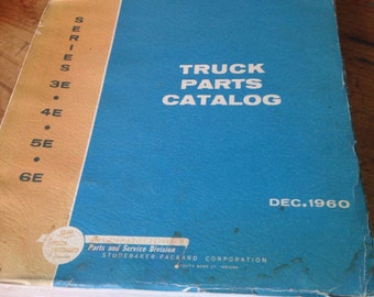 ON SALE-Studebaker 57-67 Truck parts catalog-