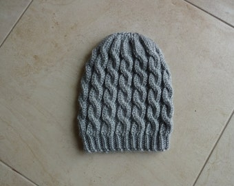 Slouchy hat slouchy beanie hand knitted