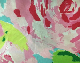 First Impressions Hotty Pink Lilly Pulitzer Fabric