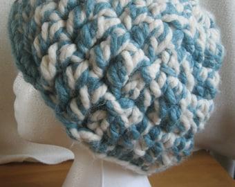 Super Chunky Handmade Crocheted Hat.