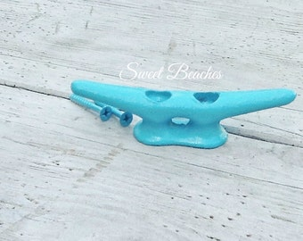 4 Inch Seaside (color) Boat Cleat Dock Cleats Beach Seaside Nautical Decor