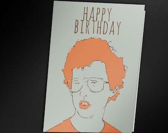 Napoleon Dynamite Birthday Card - PRINTABLE CARD
