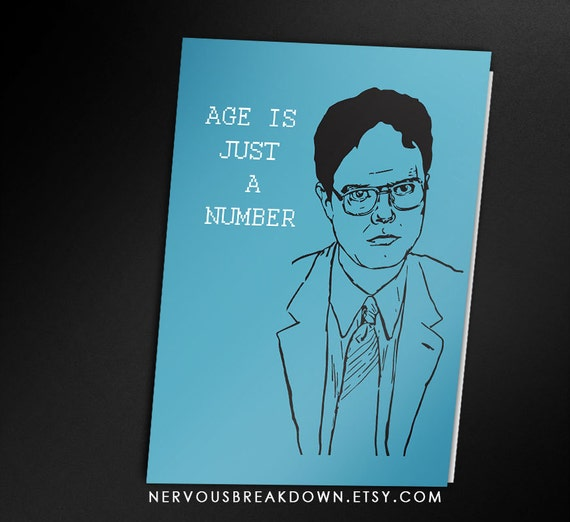 Dwight Schrute Birthday Card PRINTABLE CARD