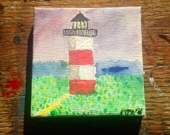 Nantucket Light House - mini