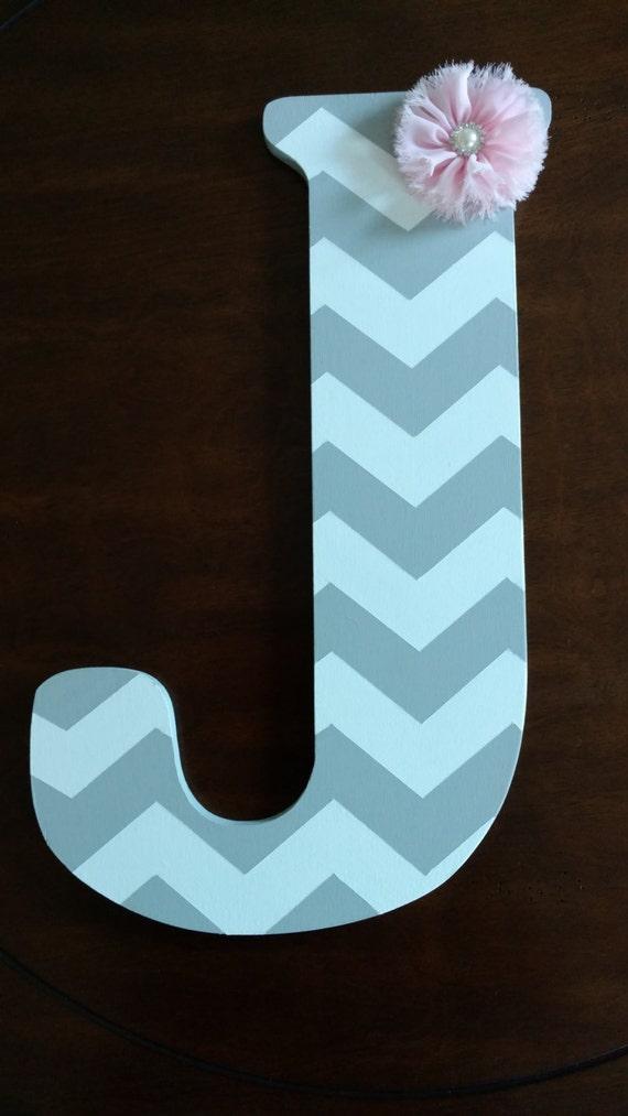 chevron monogram letter monogram letter front door monogram. Black Bedroom Furniture Sets. Home Design Ideas