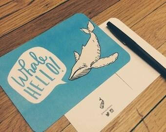 Whale Hello | Postcard
