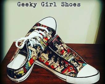 The wonder of comics custom shoes