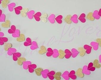 Wedding Garland, Paper Garland, Bridal Shower, Baby Shower, Birthday Decor, Birthday, Paper String decoration, garland back drop