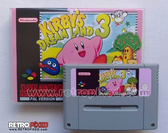 Kirby's Dream Land 3 - PAL (SNES Reproduction) (English)