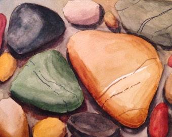 Colorful Sea Stones