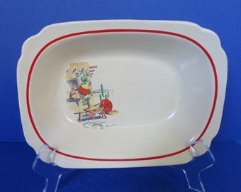 Vintage Homer Laughlin Hacienda Vegetable Bowl 1940's