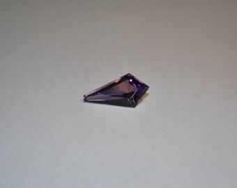 10.0 x 19.0 (4.46cts) Medium/Dark Purple Kite Shape Amethyst Stone