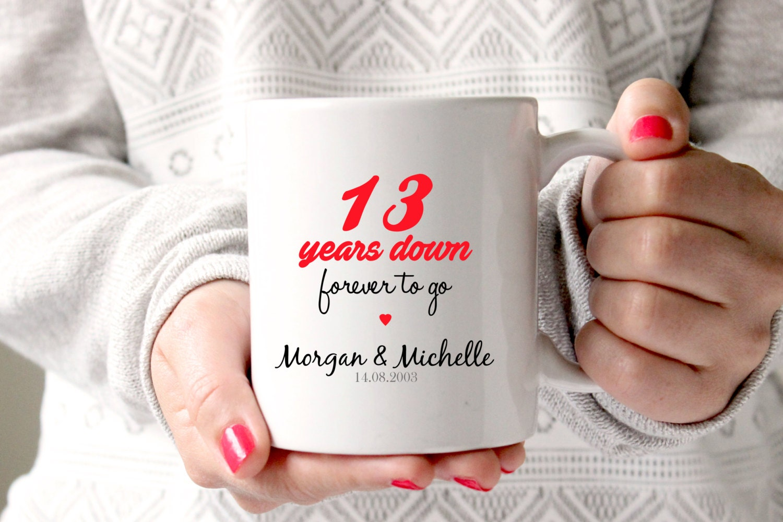 13th Anniversary Gift Wedding