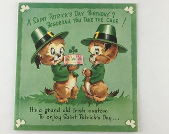 Rust Craft St Patricks Day Card