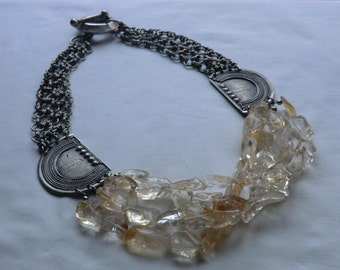 Citrin Net Necklace (Netcklace)