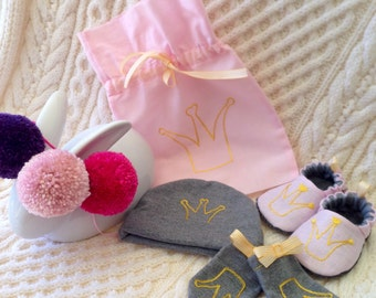 Bub'n'boots Newborn set for baby girl