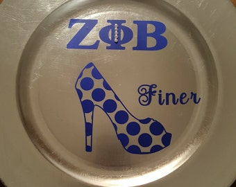 Sorority Plate Charger