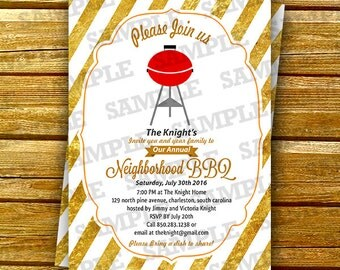 BBQ birthday party invitations, bbq party invites, bbq party invite, bbq party template, BBQ Printable invite, Art Party Invitation