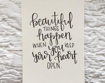 beautiful things happen print