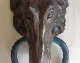 Borzoi Doorknocker
