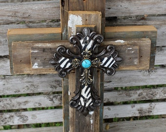 Awesome Rustic Cross, Wall Cross, Cross Wall Decor, Decorative Cross, Unique Wall  Cross