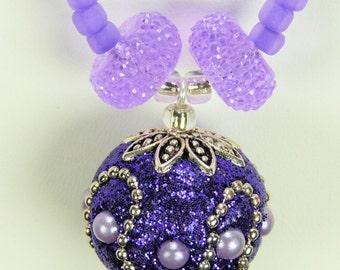 Necklace Set Purples