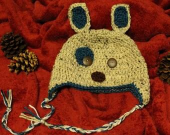 Dog Crochet Hat
