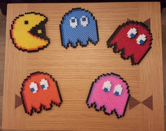 Pacman Coaster Set (set of 5)