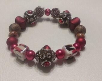 Item #029 Red Diamond Bracelet