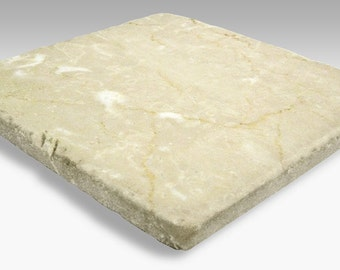 Tumbled Stone Dye Sublimation Blank Tiles  - 6 Pack