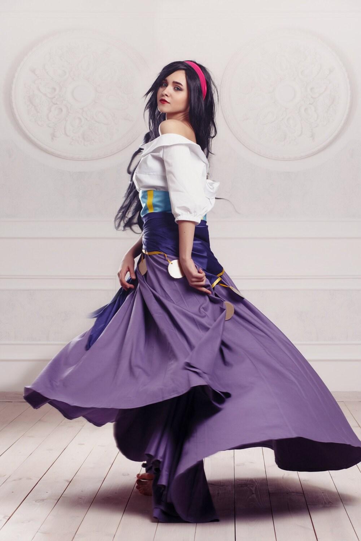 esmeralda cosplay kost m disney zigeuner von. Black Bedroom Furniture Sets. Home Design Ideas
