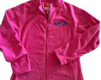Type 1 Strong Ladies Pink  Zip-up Micro Fleece. Show your Type 1 Diabetes Strength with this super comfortable fleece.