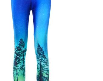 YOGA leggings/ High waisted leggings