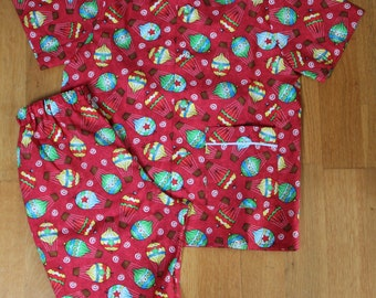 T 4 years cotton summer pajamas