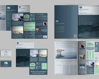 Set of Brochures / Stationery 05