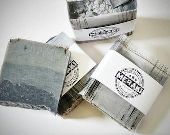 Organic Charcoal Soap - Lavender Cold Process Soap