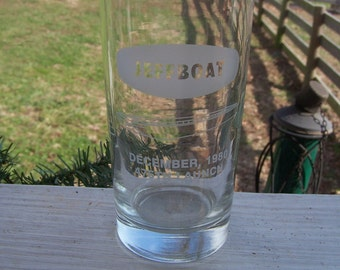 Rare, Vintage 5th Launch Jeffboat Glass