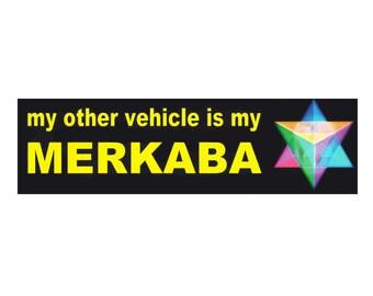 Merkaba - bumper sticker
