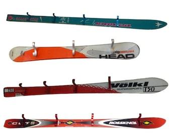 Recycled Ski Coat Rack / Coat Hooks
