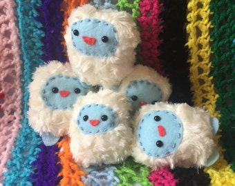 Mini Yeti Plush Toy