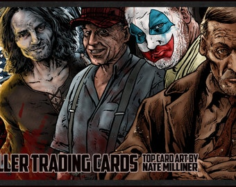 The New Serial Killer Trading Cards- hand signed, numbered and sealed with a certificate of authenticity